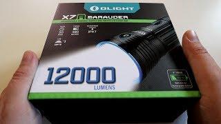 Olight Marauder X7R : La Lampe Torche PUISSANTE !