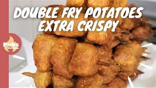 2 kg Potatoes frying twice / Pakora