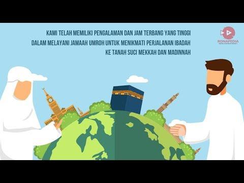 089630633000 (WA/Telp) Jasa Pembuatan Video Animasi Profil/Promosi/Iklan UMROH Jakarta