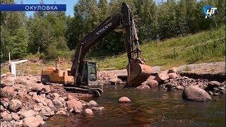 В Окуловке реконструируют гребной канал и разбитые при строительстве трассы М-11 дороги