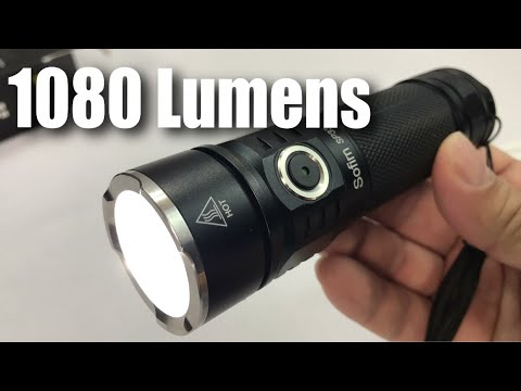Sofirn 1080 Lumens CREE LED 6 Mode Flashlight Review