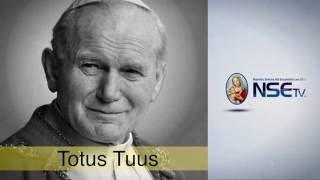 San Juan Pablo II y Santa Teresa de Calcuta -TOTUS TUUS