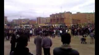 preview picture of video 'تضامن سكان تاوريرت مع إخوانهم في غزة  31-12-2008'
