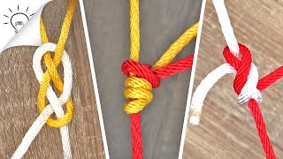 10 Ways to Tie Two Ropes Together | Thaitrick
