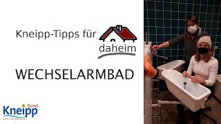 Video Wechselarmbad - Kneipp-Tipps für daheim Teil 23 abspielen
