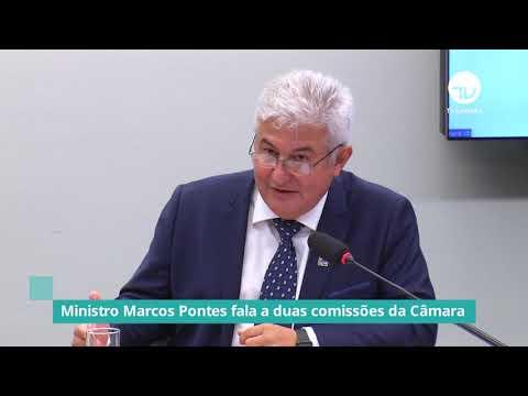 Ministro Marcos Pontes fala a duas comissões da Câmara - 06/10/21