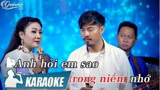 Hỏi Anh Hỏi Em Karaoke Song Ca - Quang Lập & Thúy Hà
