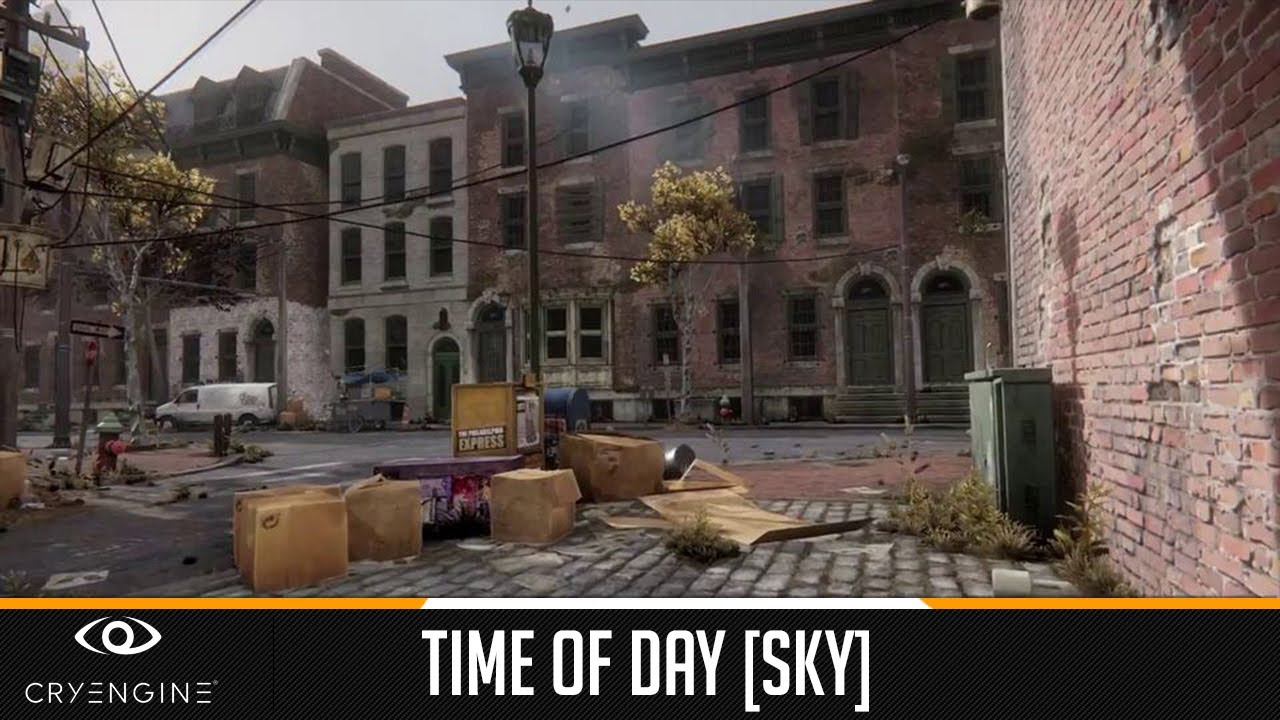 Tutorial - CryEngine 3 - Time of Day [Sky]
