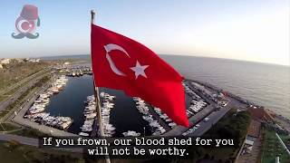 Turkey National Anthem -  (2 Verses - English) | İstiklal Marşı İngilizce