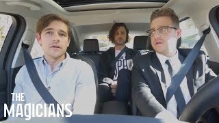 THE MAGICIANS | The Magicians In Cars Getting Rides | SYFY