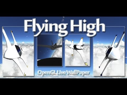 Video of Flying High Live Wallpaper HD
