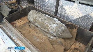 В Воронеже строящийся центр гребли оцепили из-за 100-килограммового снаряда