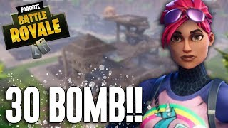 30 BOMB!!! Fortnite Battle Royale Gameplay   Ninja