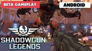 SHADOWGUN LEGENDS - ANDROID GAMEPLAY ( BETA )