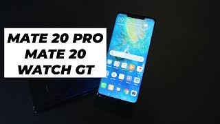 Huawei Mate 20 Pro, Mate 20 & Watch GT First Look | Trusted Reviews