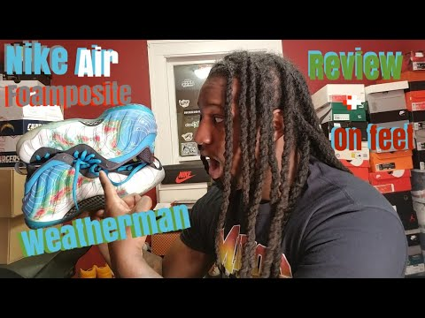 NIKE AIR FOAMPOSITE ONE PREMIUM WEATHERMAN UNBOXING & REVIEW + ON FEET
