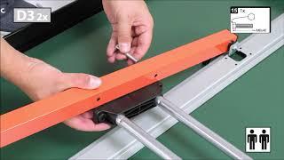Schildkröt PowerTec Outdoor Tischtennistisch - Montagevideo