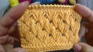 Como Tejer Punto Ruso Amarillo