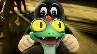 Кротик и Панда - Таинственное яйцо - серия 12 - развивающий мультфильм для детей