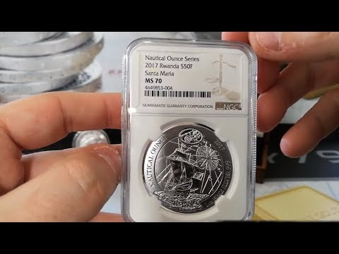 Latest Pickups! MS70 Silver Nautical 2017 & SP70 Silver 2017 Krugerrand!
