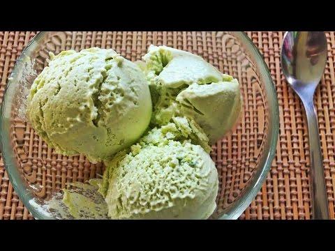 Video Homemade Avocado Ice Cream Recipe