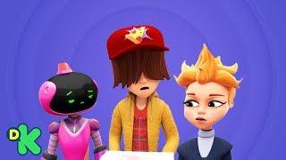 ¡Los bebés ya no quieren rockear en el futuro! | Mini Beat Power Rockers | Discovery Kids