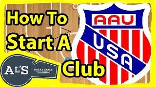 How To Start an AAU Basketball team
