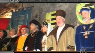 preview picture of video 'PALIO DEL SARACINO A NEPI (VT) - LUCREZIA BORGIA E I BORGIA - SERVIZIO TG9 SU T9 - 31/0572013'
