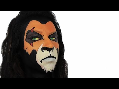 Scar | The Lion King Face Painting