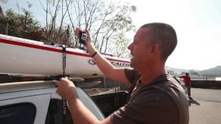 How to Tie your Kayak down correctly.