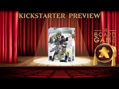 The Board Game Spotlight Previews - Combo Fighter