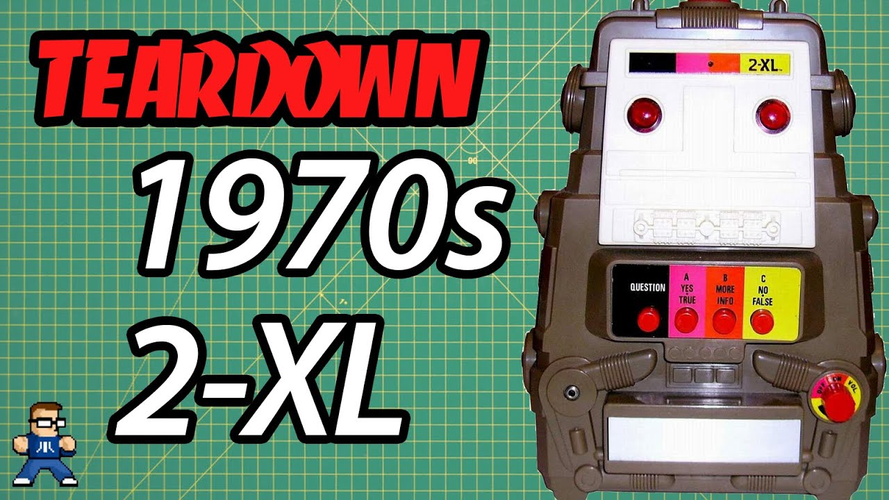 Mego 2XL Robot Teardown