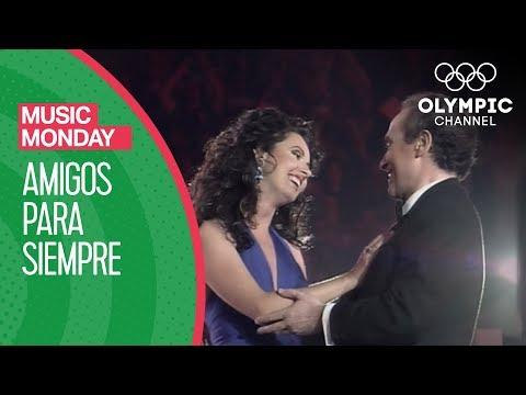 Amigos Para Siempre - Sarah Brightman & José Carreras @ Barcelona 92 Opening Ceremony   Music Monday