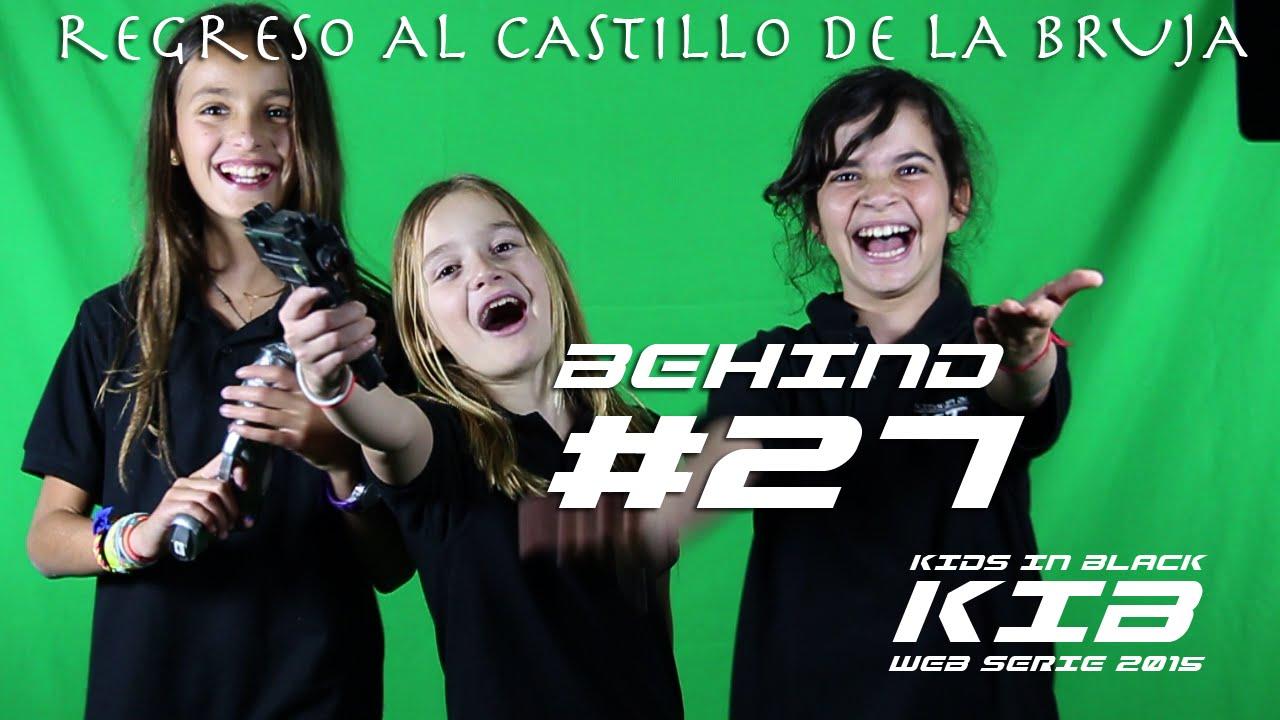 Regreso al Castillo de la Bruja - Kids In Black 2015 - Detrás de las cámaras #27