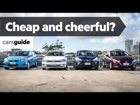 Toyota Yaris vs Mazda 2 vs VW Polo vs Hyundai Accent 2019: city car comparison review