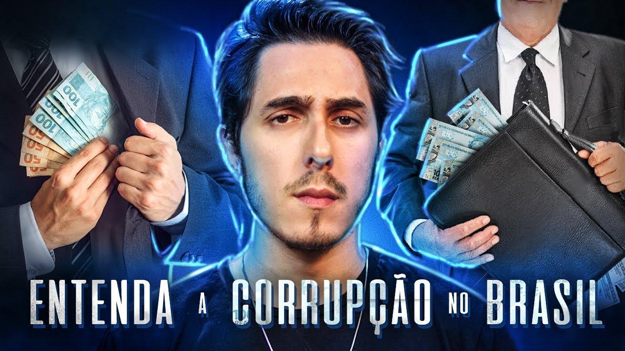 Entenda a corrupção no Brasil de um modo SIMPLES