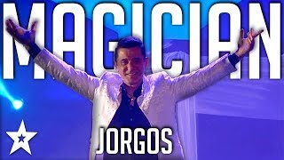 Illusionist Jorgos | All Performance |  Got Talent Greece | Magician