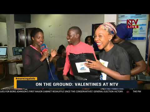 Valentines day 2020 at NTV Uganda