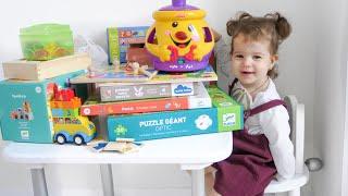 ЛУЧШИЕ РАЗВИВАЮЩИЕ ИГРЫ  от 1 года до 3 лет/ Удобное хранение игрушек