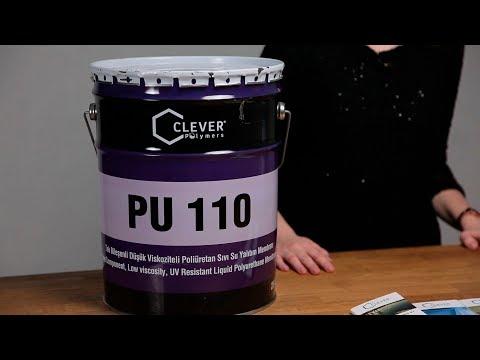 Жидкая полиуретановая гидроизоляция Clever PU Base 110 youtube