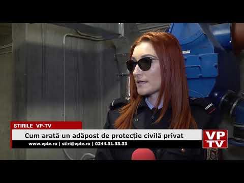 Cum arată un adăpost de protecție civilă privat