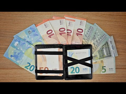 """Magic Wallet """"Flap Boy Slim"""" mit RFID Schutz von Jaimie Jacobs // Slim Wallet // DEUTSCH"""