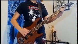 SNFU - Stepstranger (Bass cover)