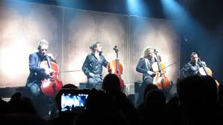 Apocalyptica plays Metallica - Harvester Of Sorrow @ Tavastia 21.09.18