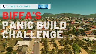 My Take on Biffa's Cities: Skylines Panic Challenge!