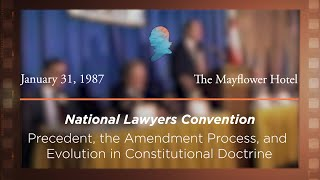 Click to play: Panel III: Precedent, The Amendment Process, and Evolution in Constitutional Doctrine [Archive Collection]