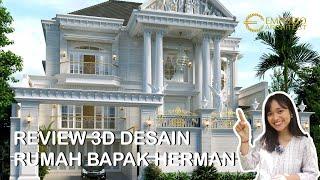 Video Desain Rumah Classic 3 Lantai Bapak Herman di  Denpasar, Bali