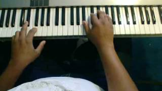 Back II Eden by Donald Lawrence  piano tutorial Part 1