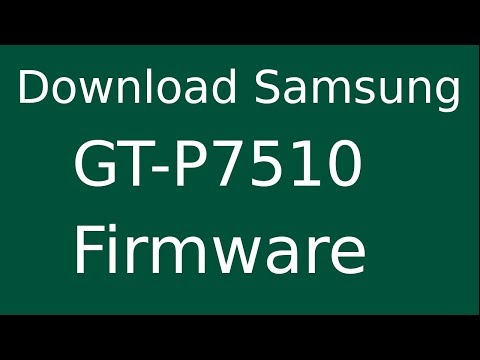 How To Download Samsung GALAXY Tab 10 1 GT-P7510 Stock