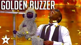 AMAZING Ventriloquist gets GOLDEN BUZZER on SA's Got Talent | Got Talent Global